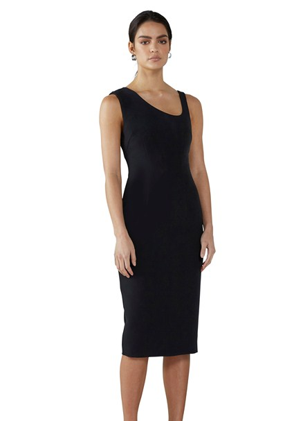 buy the latest Ebony Asymmetric Midi Dress online