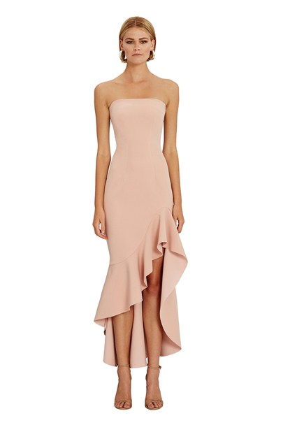 buy the latest Strapless Wave Gown  online