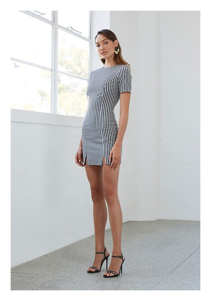 buy the latest Check Mini Tee Dress online