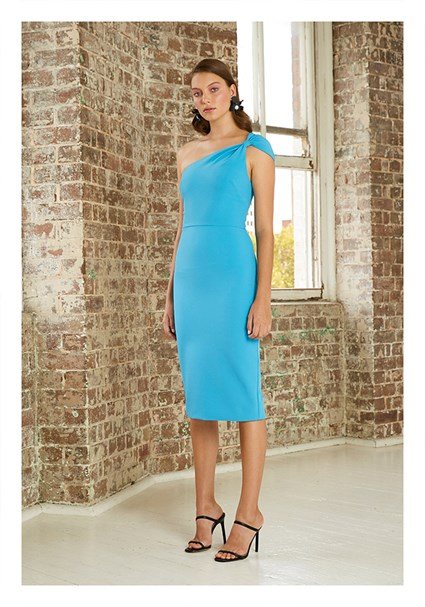 buy the latest Tied Shoulder Midi Dress online