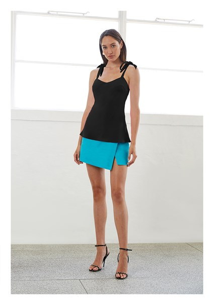 buy the latest Black Bow Slip Cami online