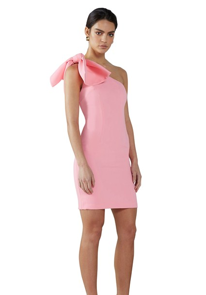 buy the latest Carnation Tie Shoulder Mini Dress online