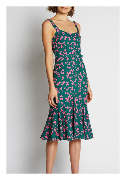 buy the latest Petal Punch Belted Sun-Dress online