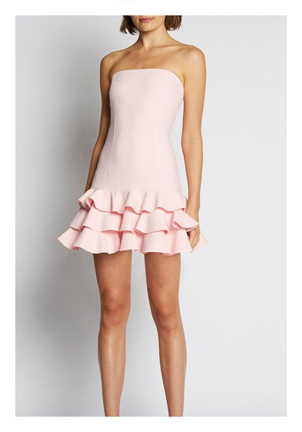 buy the latest Calla Frill Strapless Dress online