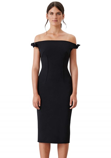 buy the latest Bare Shoulder Tie Dress online