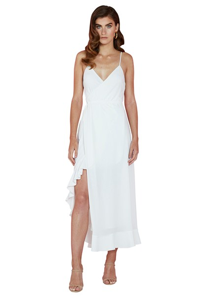 buy the latest Waterfall Wrap Dress online