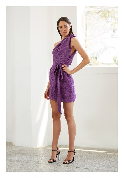 buy the latest Knot Now One Shoulder Mini Dress online