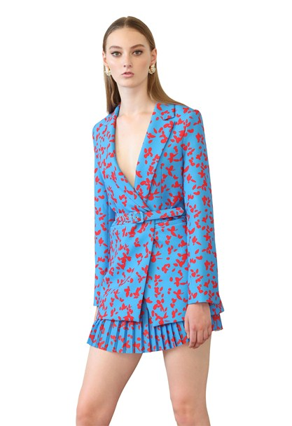 buy the latest Petal Punch Structured Blazer online