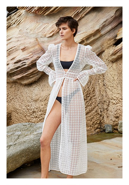 buy the latest Diamond Lace Coverup online