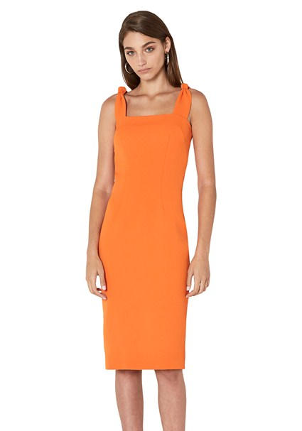 buy the latest Sherbet Knot Strap Midi Dress online